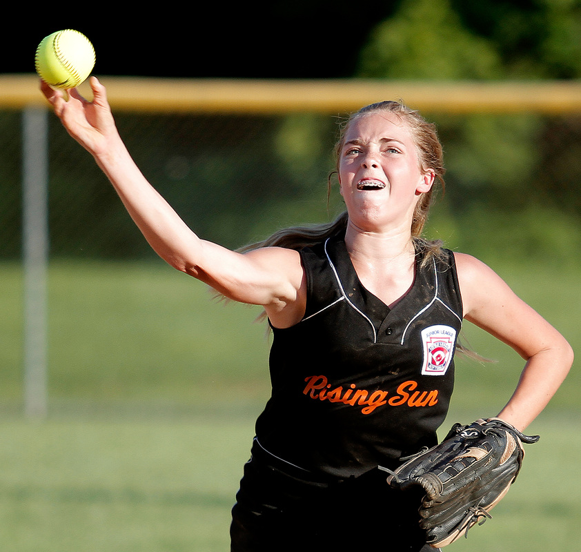 St. Mary's downs Rising Sun to win state Junior softball ...