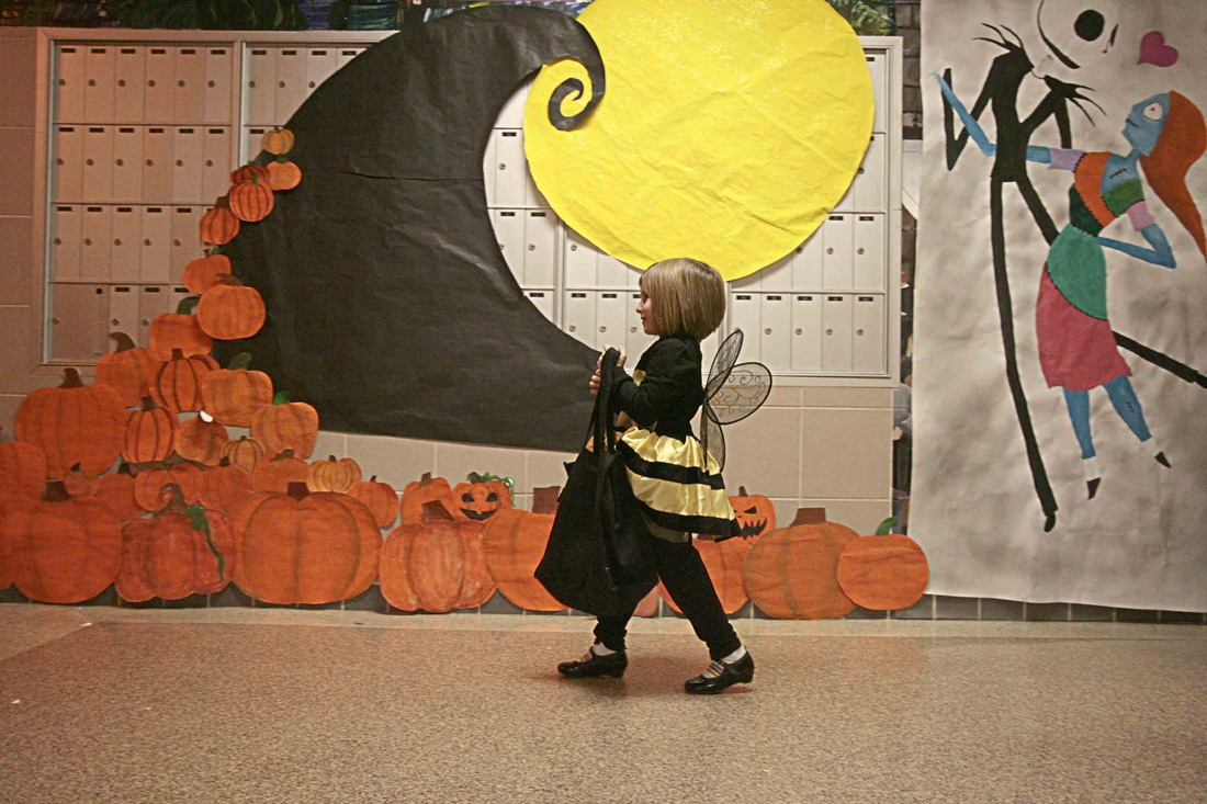 solanco high school hosts halloween hallways